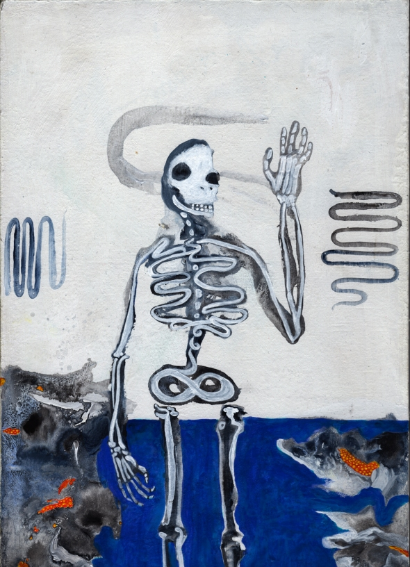 clap along if you feel like bones without a skin...